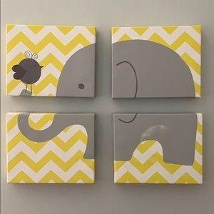 Elephant Canvas Art